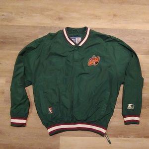 Vintage Starter Seattle Supersonics Sonics Jacket